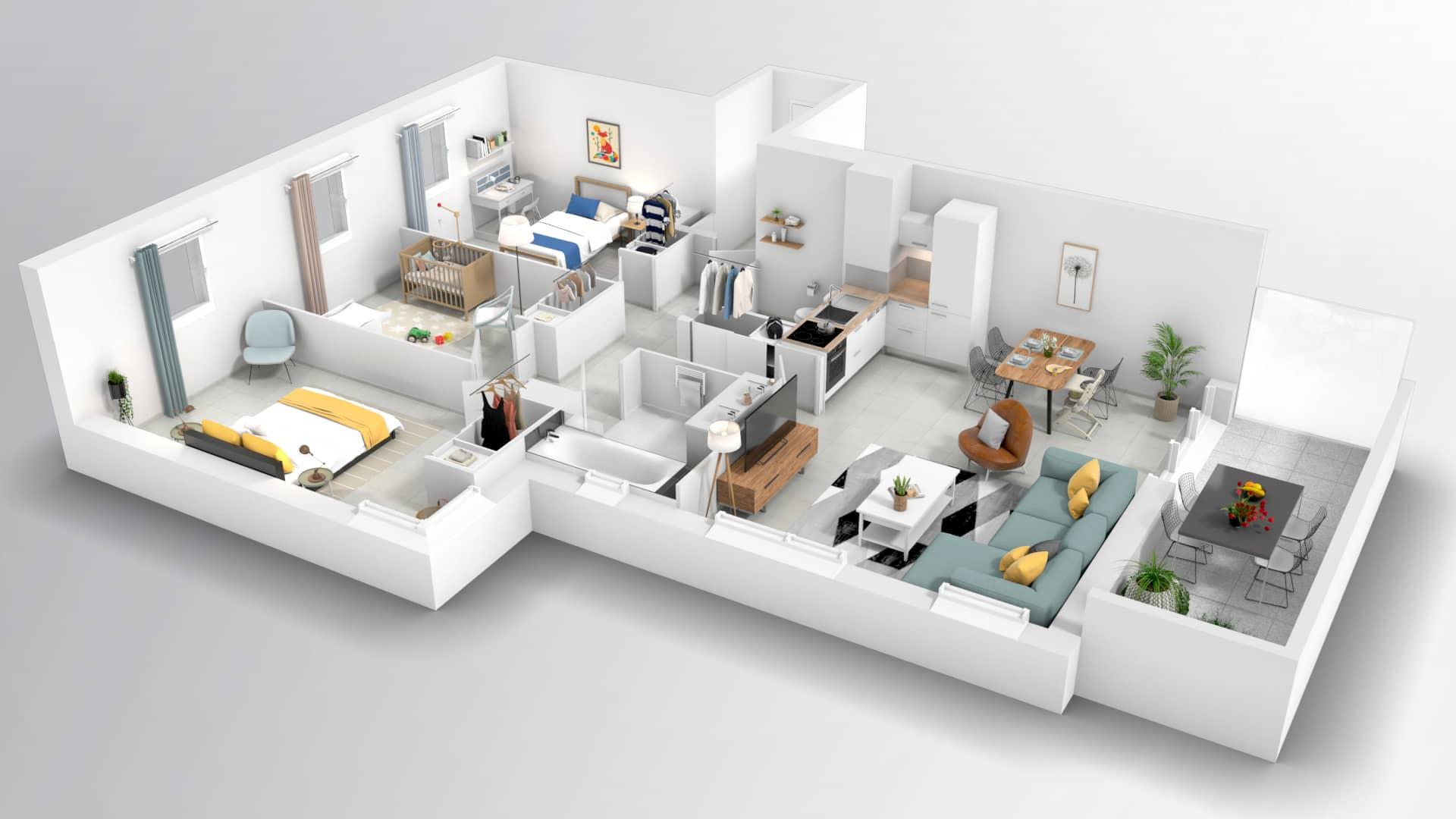 Programme immobilier neuf ALLURE 12ème