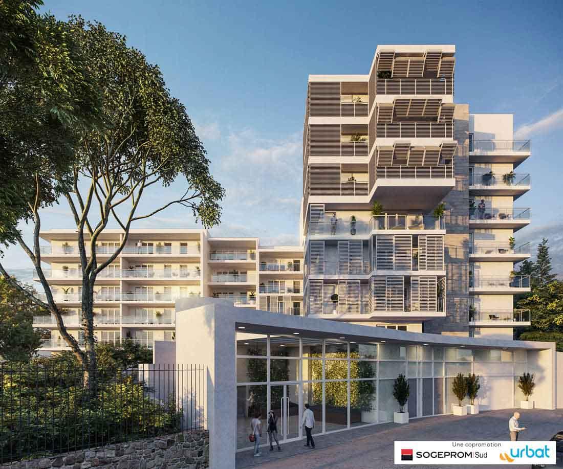 Programme immobilier neuf White Garden