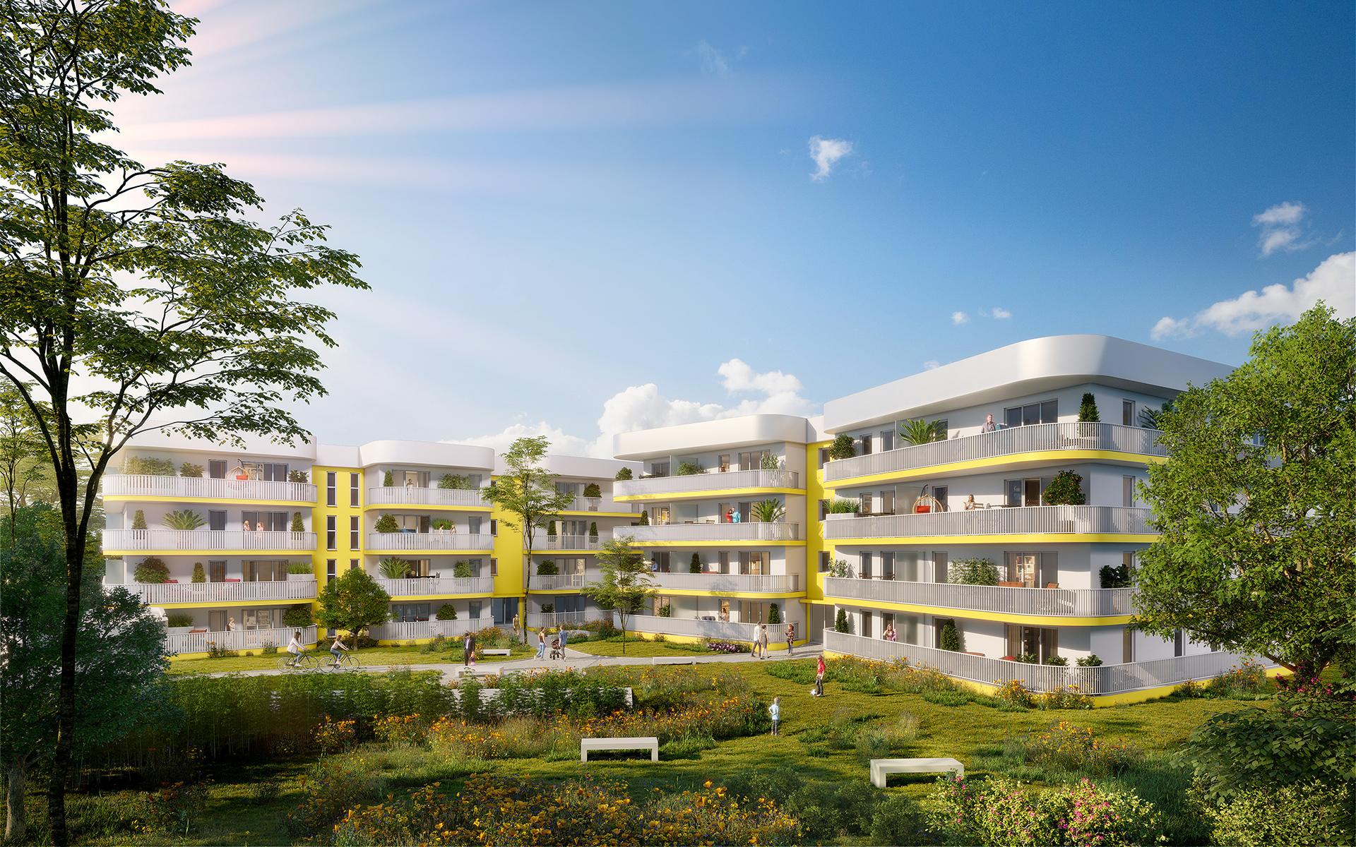 Programme immobilier neuf SO SAINT-MITRE  - 13eme Arrondissement