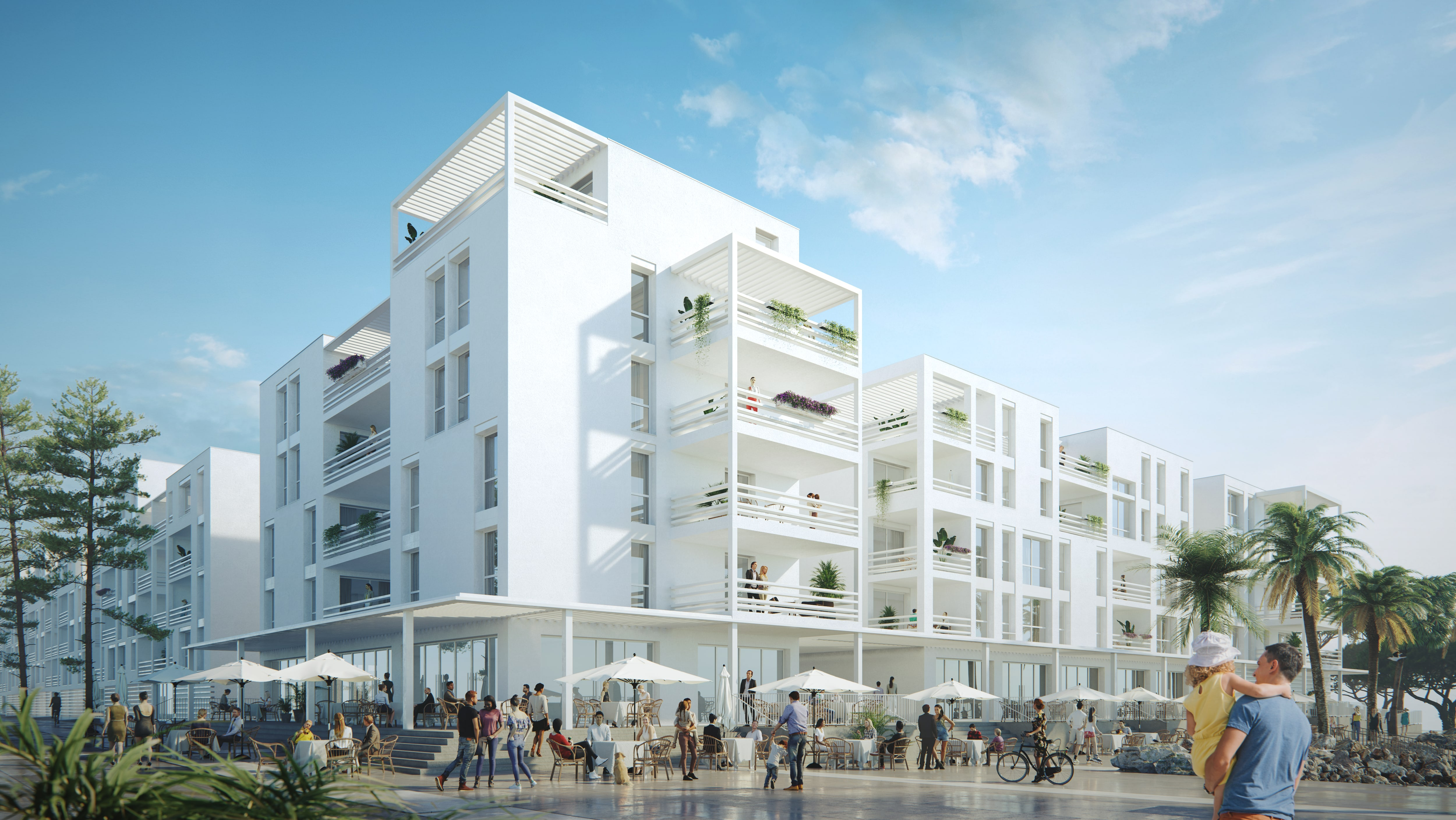 Programme immobilier neuf Les Voiles Blanches