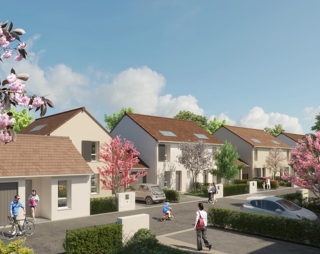Programme immobilier neuf LE CLOS DES FONTAINES