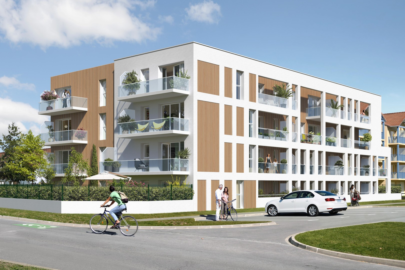 Programme immobilier neuf RESIDENCE LES GRANDES MAREES