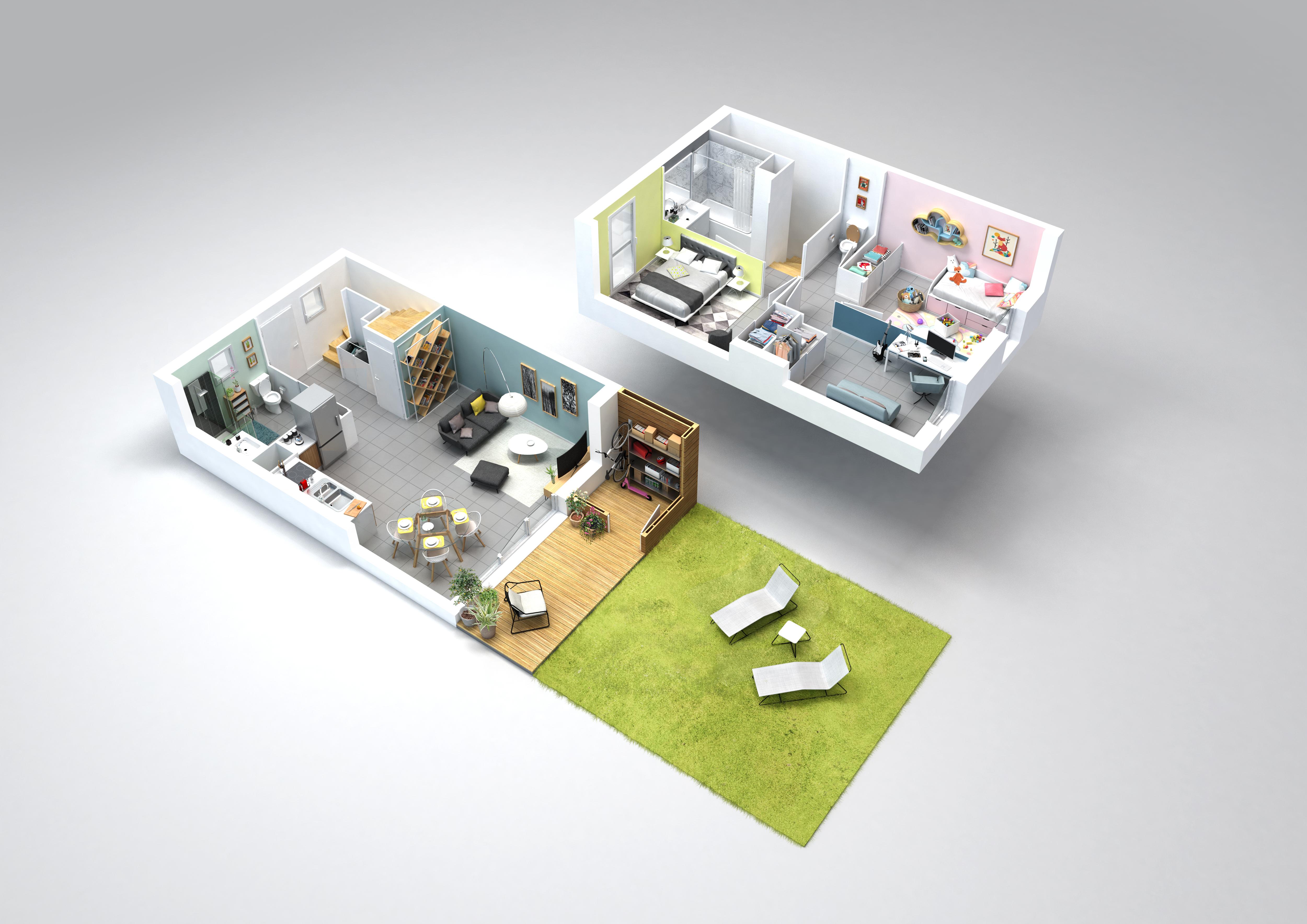 Programme immobilier neuf Les Jardins de Cassandre
