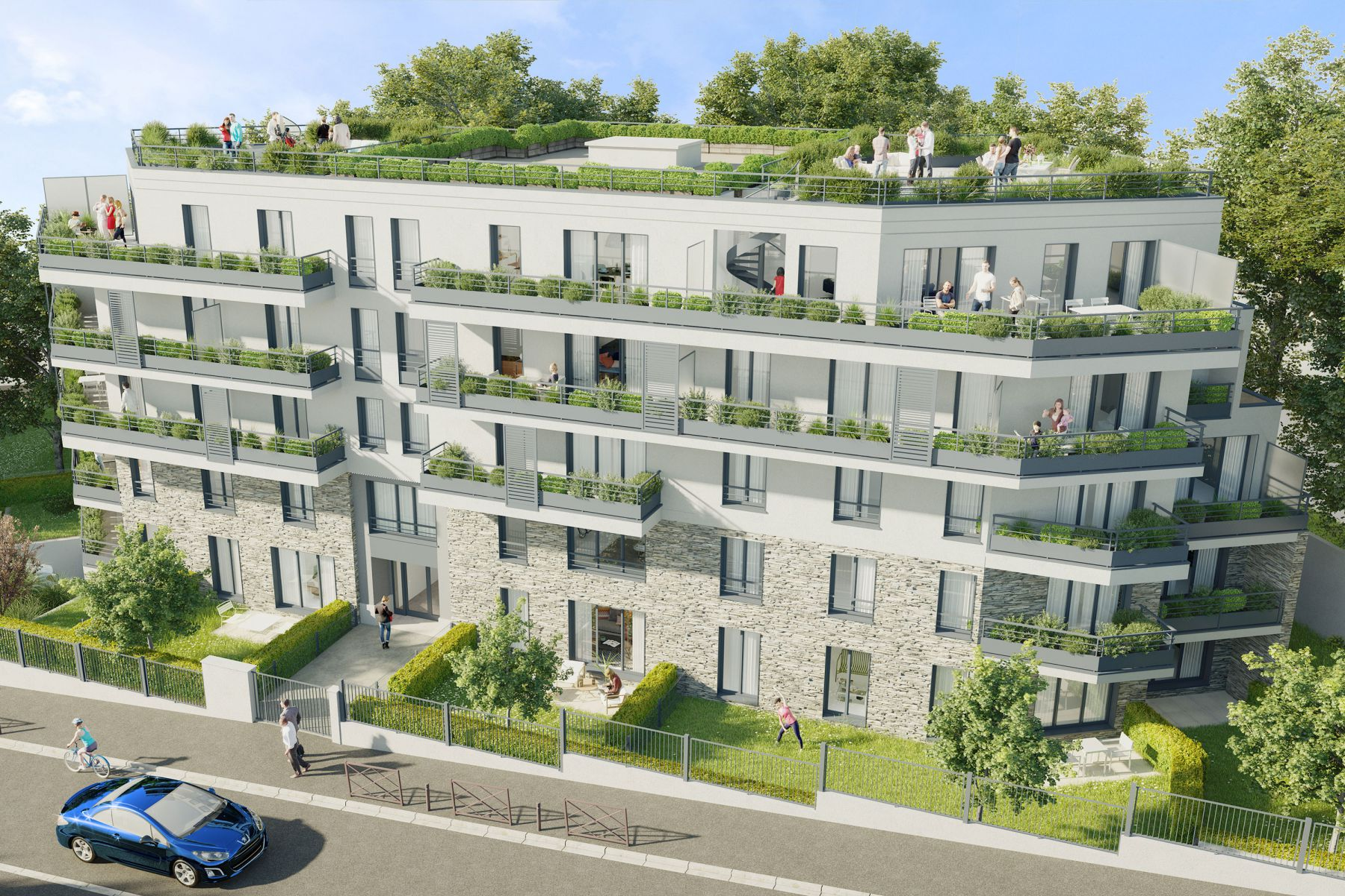 Programme immobilier neuf Les Terrasses Vertes