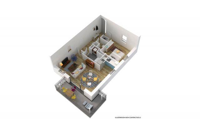 Programme immobilier neuf Le Domaine de Kergwenan