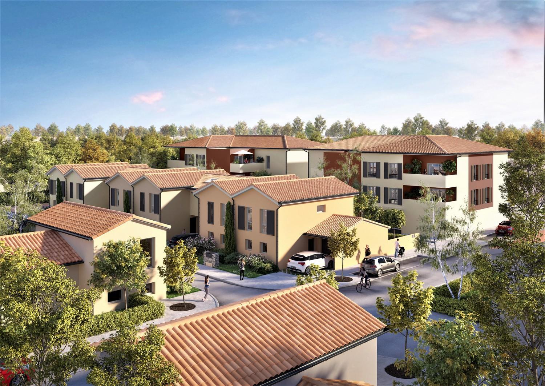 Programme immobilier neuf LA TERRE DES OCRES