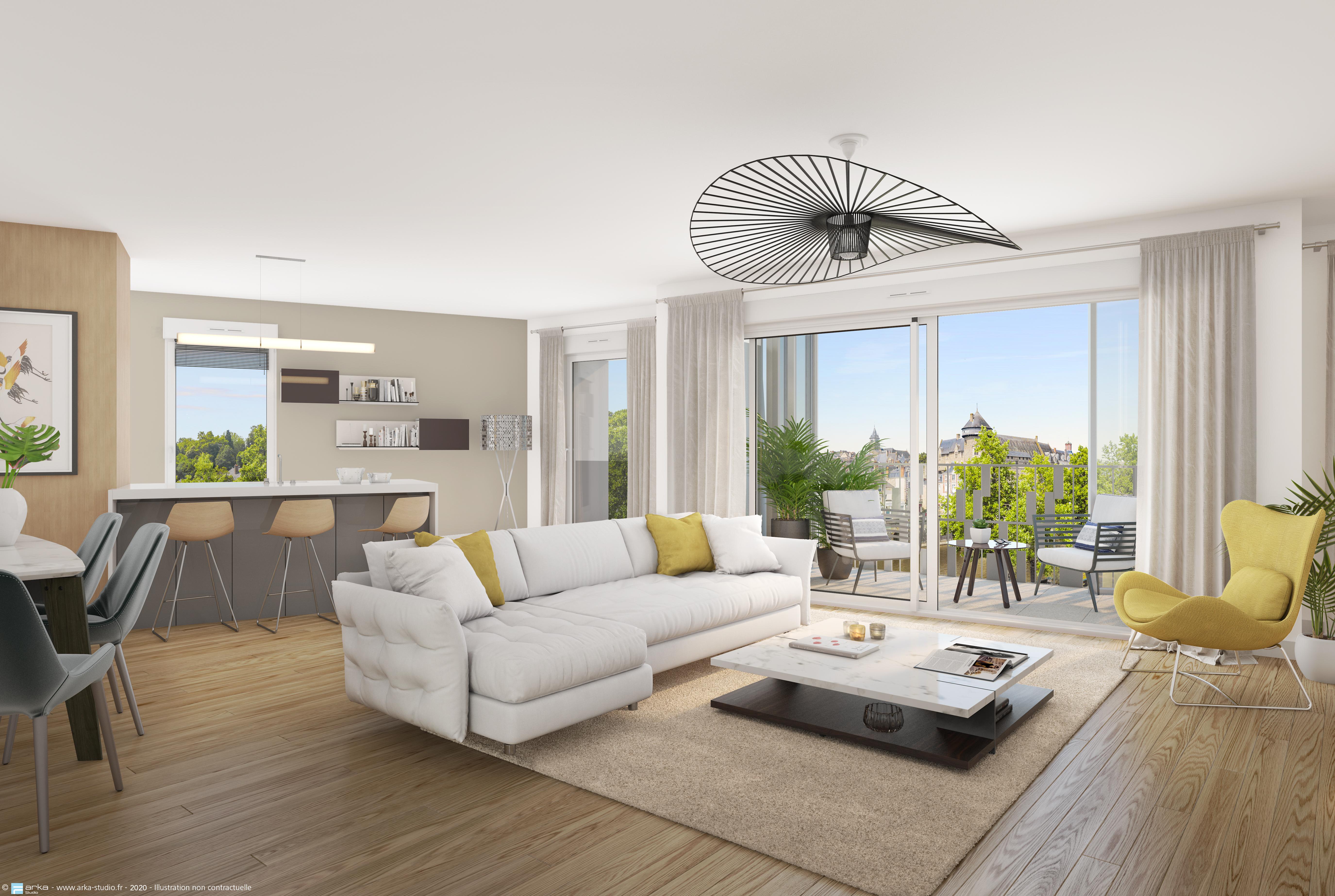 Programme immobilier neuf LE CARRE SAINT JULIEN