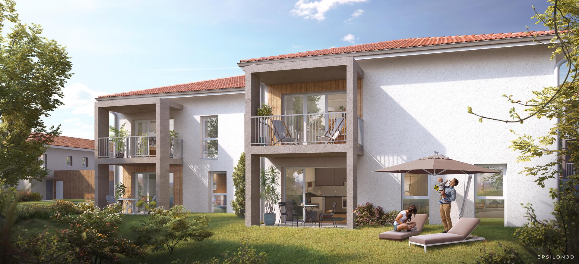 Programme immobilier neuf DOMAINE DE MONT ALMA