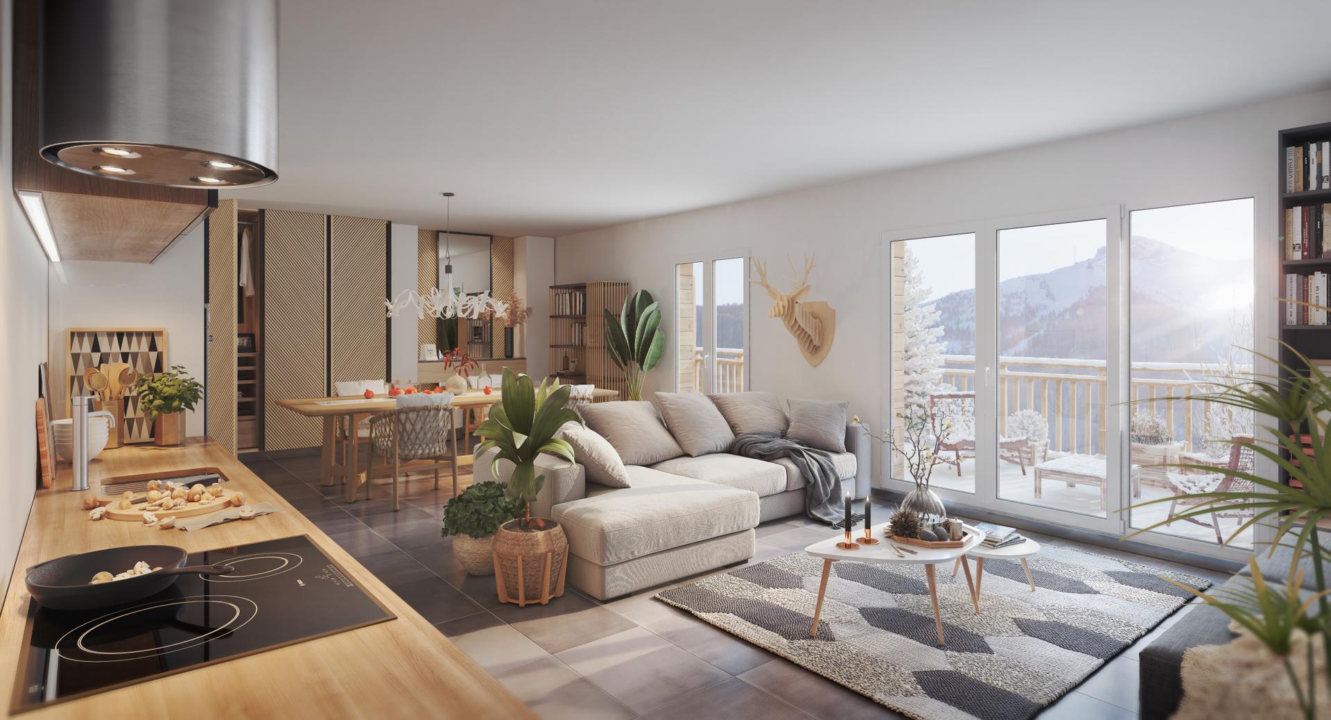 Programme immobilier neuf LE MONT D'AURON