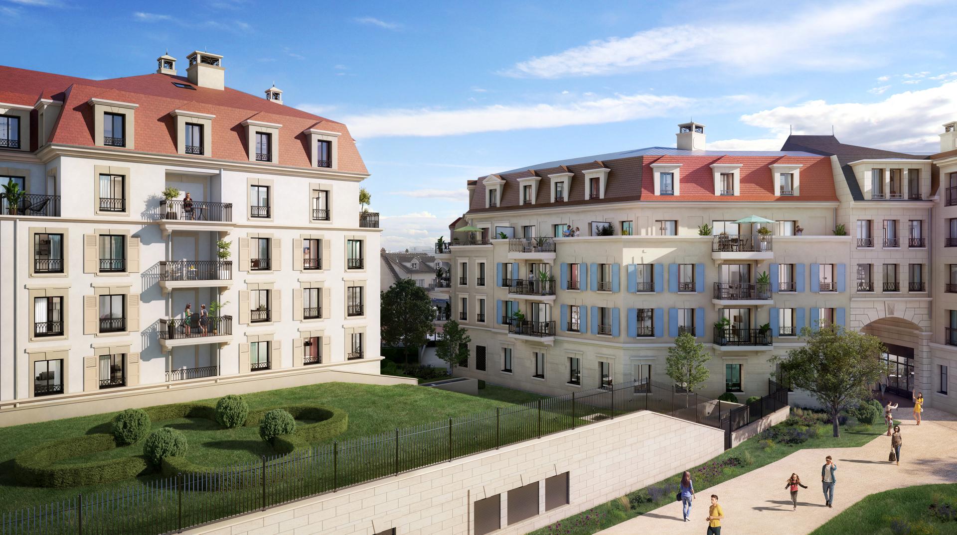 Programme immobilier neuf LES JARDINS MANSART CLAMART