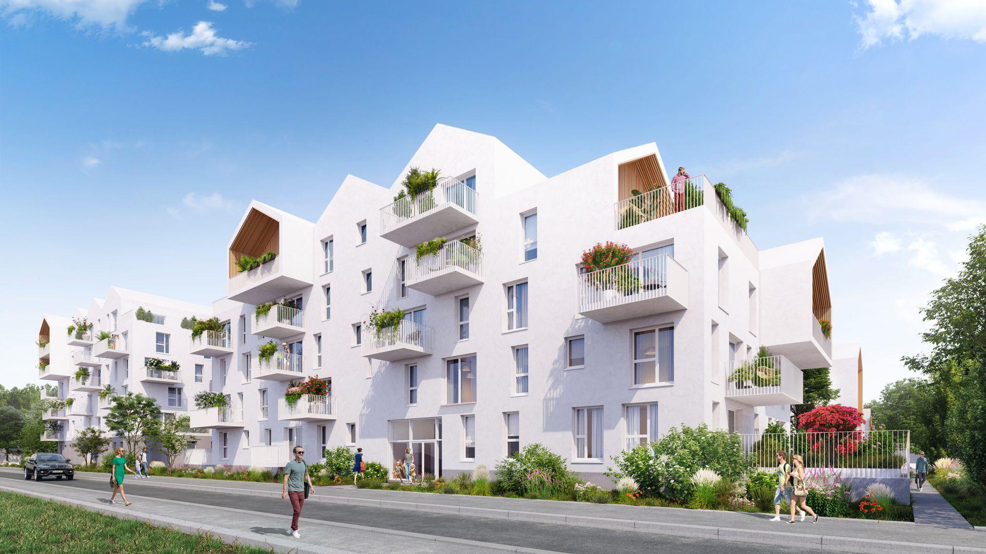 programme immobilier neuf les jardins fleury appartements neufs, du 2 pièces au 4 pièces à fleury sur orne à partir de 135 480 vente d un bien immobilier neufachat d un bien immobilier neufsituer ce bien
