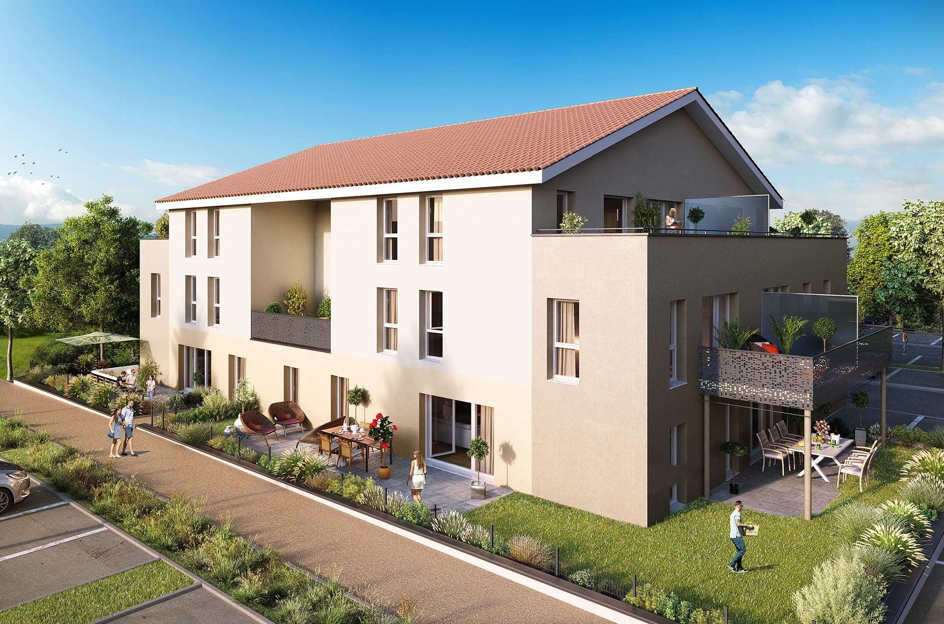 Programme immobilier neuf Les Terrasses du Pilat