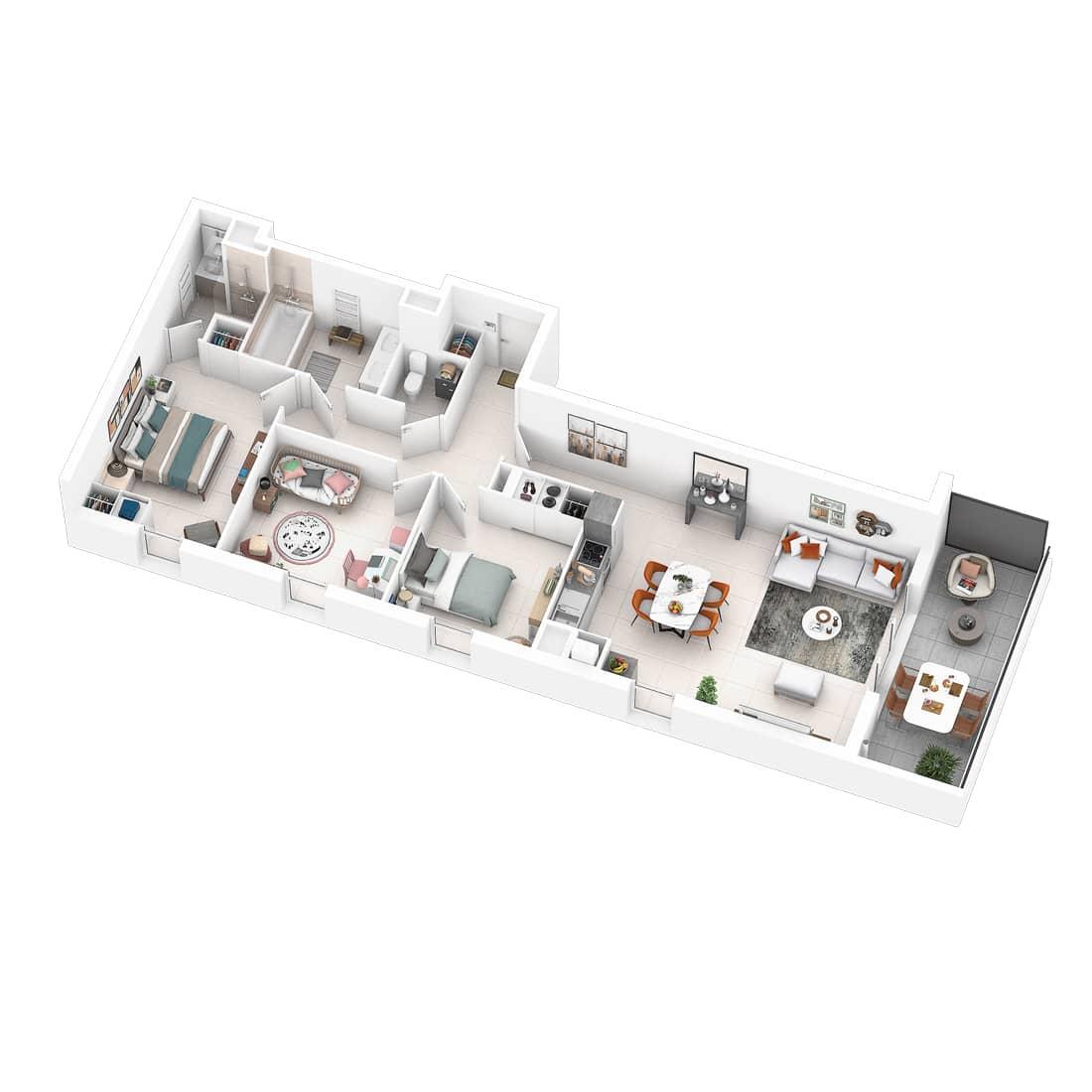 Programme immobilier neuf Pavillon 9